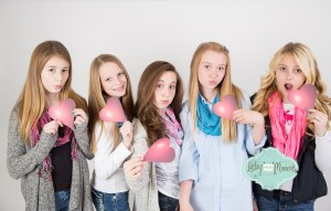 Girls Birthday Photo Shoot
